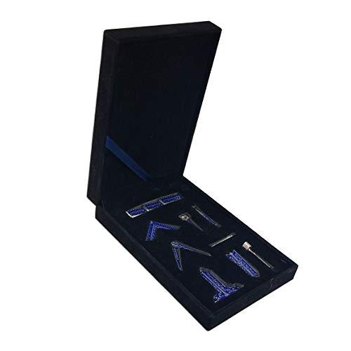 (Masonic Blue Lodge Freemason Working Tools Set in Box Accessories)