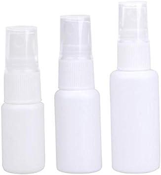 10 unids/set 10/20/30ml botellas de Spray médico botella de Spray líquido portátil vacío PE plástico líquido almacenamiento botella de Spray seguro Plástico 30 ml