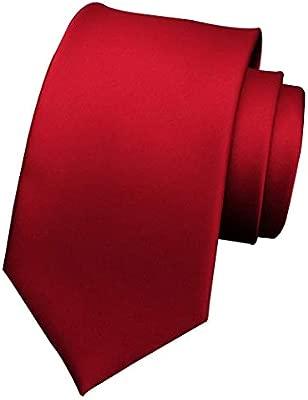 Yongyong Corbata Roja De Gama Alta para Hombre De Encaje Rojo ...