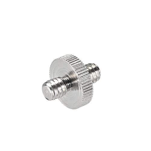 uxcell Camera Screw Adapter 1/4 inch Male to 1/4 inch Male Screw Tripod Screw Adapter Converter for Tripod/Monopod/Ballhead/Li
