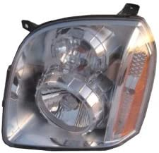 Driver and Passenger Headlights Headlamps Replacement for GMC Yukon Denali /& XL Denali 20969896 20969897