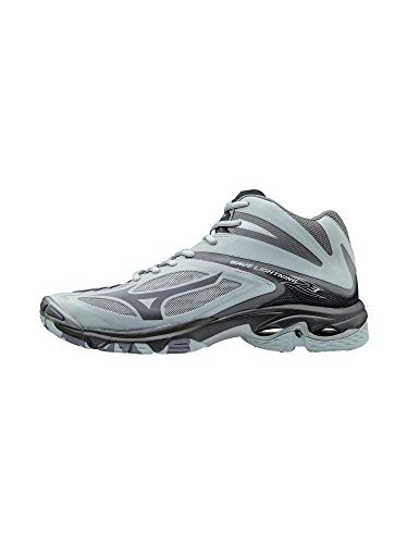 Mizuno Wave Lightning Z3 Mid Mens Volleyball Shoes, Grey, 12 D US