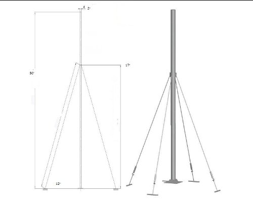 aleko-t30-wind-generator-tower-wind-turbine-pole-30-ft