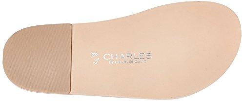 Charles By Charles David Sandale Gladiateur En Acier Pour Femme Gris Clair