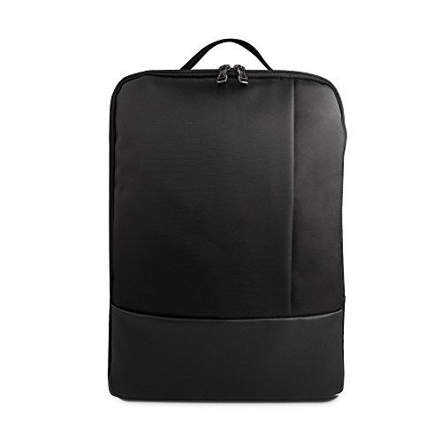 WEYO Multifunktions Rucksack Laptop Rucksäcke, Business Notebook Rucksack Business Aktentasche, Wasserdichte Reise Rucksack für 12-15,6 Zoll Laptop, Schwarz