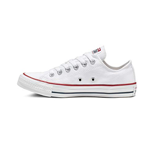 Converse Unisex Chuck Taylor All Star Low Top Sneakers -  White - 7 D(M) US -