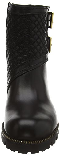 Sebastian S6828 A/18 - botas de caño bajo de cuero mujer negro - Schwarz (vitello nero)