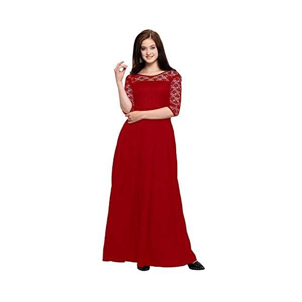 Women's Crepe Sleeve Gown