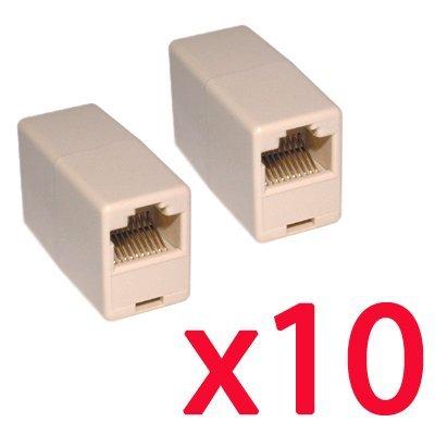 2 opinioni per TOOGOO (R) 10 x Accoppiatore RJ45 Cat5 cambia genere