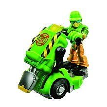Transformers Rescue Bots Walker Cleveland and Jackhammer