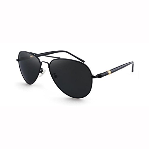 de Protection Polarized de de soleil Sun UV400 peut pour Hiker cadeaux Personnalité plein Lunettes protection Lunettes air Sports de soleil New Sunglasses hommes Black Star UV Visor Gray Lunettes de soleil Frame; Black C U6vwq7