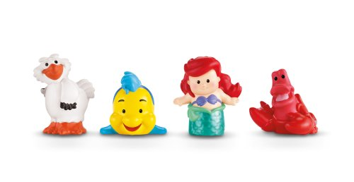 Fisher-Price Little People Disney Princess, Ariel and Friends (Fisher Price Disney Little People)