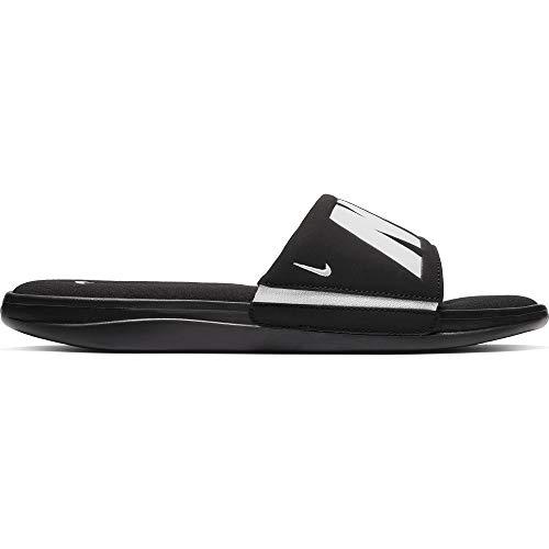 (Nike Men's Ultra Comfort 3 Slide Sandal Black/White Size 8 M US)