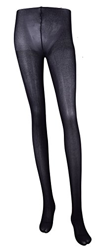 fashion tights for women stripe pantyhoses solid color nylon stocking Black