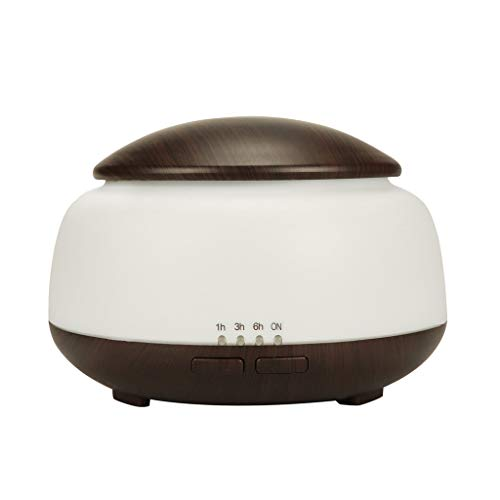Celendi Humidifier Air Aroma Essential Oil Diffuser LED Aroma Aromatherapy Humidifier - Wood Pc Guardian