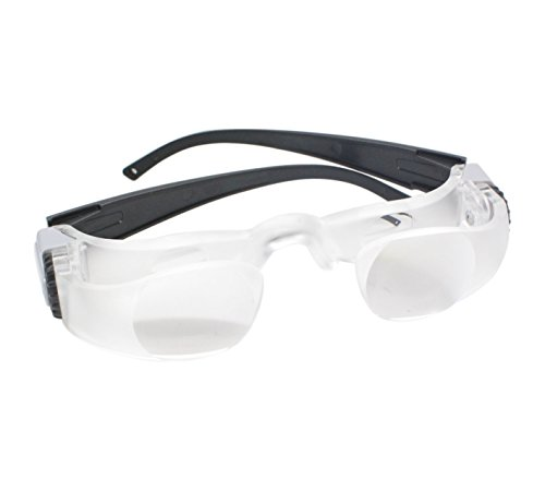 Nument Magnifying glasses portable Max TV Glasses 2.1 X 0 to +300 Degree Goggles Magnifier (Far-sightedness) by Nument