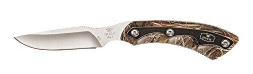 Buck Knives 0542 OPEN SEASON CAPER Fixed Blade Knife with Sh