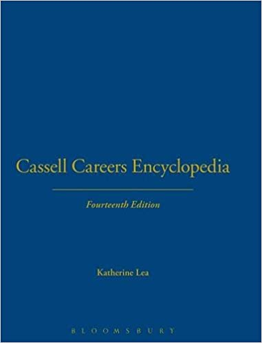 Cassell Careers Encyclopedia 9780304337408 Economics at amazon