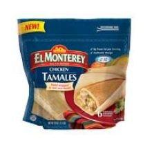 El Monterey Chicken Tamale, 24 Ounce -- 6 per case.