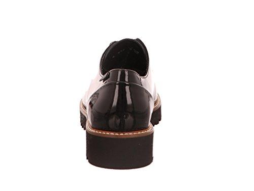 pour de Femme à Ville Noir Mephisto Lacets Chaussures 5Rzw1qzX