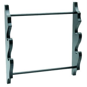 Two Sword Wall Display Rack DÃcor