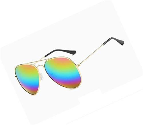 Gafas de sol Marco lente Colorful aire de UV400 libre conducción de Gafas protectoras Gafas unisex colorida de moda FlowerKui al luz de Diseño de sol 46OYwx