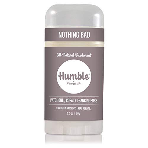 Humble Deodorant Aluminum Patchouli Frankincense product image