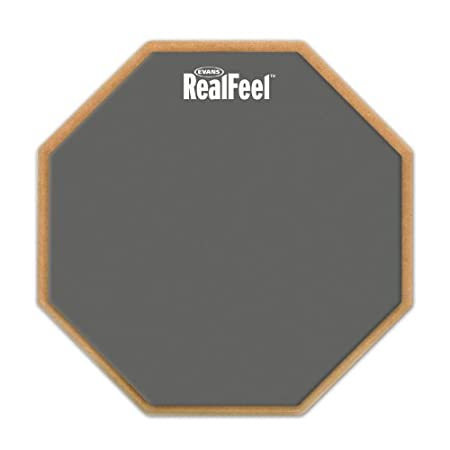 RealFeel by Evans 2-Sided Practice Pad, 6 Inch Evans Heads RF-6D