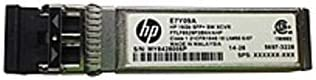 1 10GBase-SW HPE 16 GB SFP+ Short Wave Extended Temp Transceiver for Data Networking 10 Gbit//s 10GBase-SW Optical Fiber10 Gigabit Ethernet Renewed Optical Network