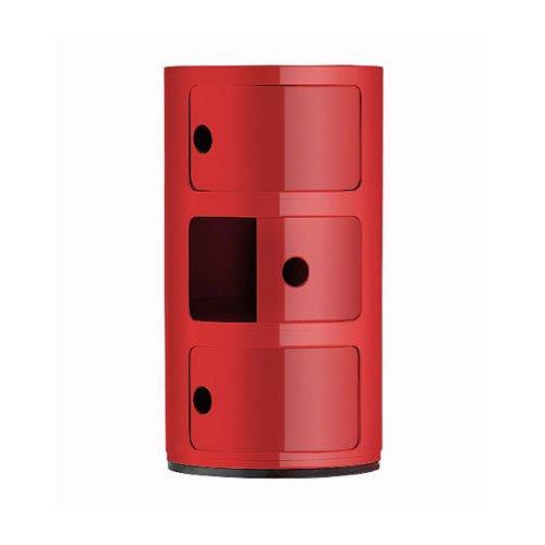 62 opinioni per Kartell 496710 Cassettiere componibili, Colore: Rosso