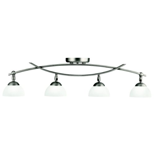 Kichler 42164AP Bellamy 4-Light Rail-Light in Antique Pewter Antique Pewter Accessories