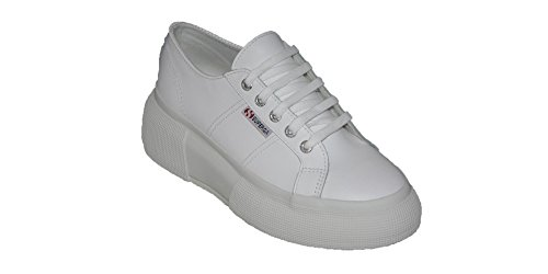 Superga Chaussures 2287 Leanappaw Blanc S / S 2018 S00dq70-900 - 309582-37