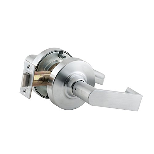 Schlage commercial ND10RHO626 ND Series Grade 1 Cylindrical Lock, Passage Function, Rhodes Lever Design, Satin Chrome Finish by Schlage Lock Company