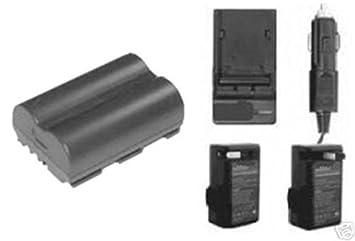 Amazon.com: Batería + Cargador para Canon ZR50MC ZR60, Canon ...