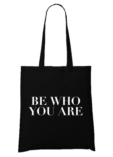 Be Who You Are Bag Black