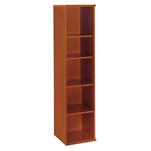 (Bush Business Furniture Series C Collection 18W 5 Shelf Bookcase in Auburn Maple )