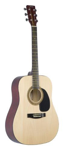 Johnson JG-610-N 610 Player Series Acoustic Guitar, Natural