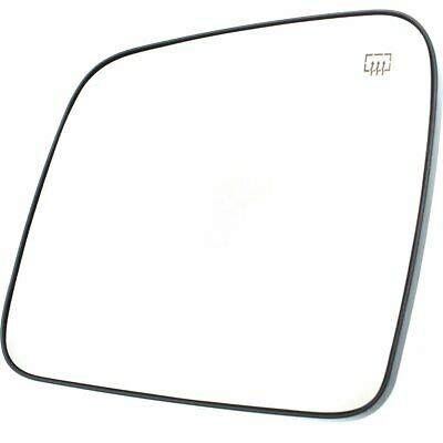 Left New Mirror Glass Heated Driver Side LH Hand for Jeep Grand Cherokee Durango ()
