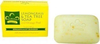 Lemongrass and Tea Tree Oil Soap Bar 5 Ounces (Pack of 3)