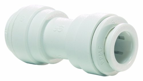 John Guest Pipe Fittings (John Guest Speedfit PPM0408W 5/16OD Union Connector, 10-Pack)