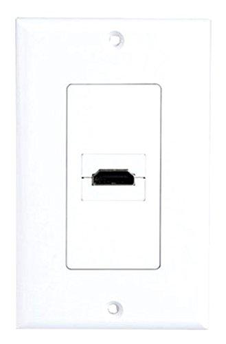 UPC 068888892391, Pyle Home PHDMIW1 Single HDMI Wall Plate 90 Degree Exit Port