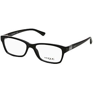 Vogue VO2765B Eyeglass Frames W44-5116 - Black VO2765B-W44-51