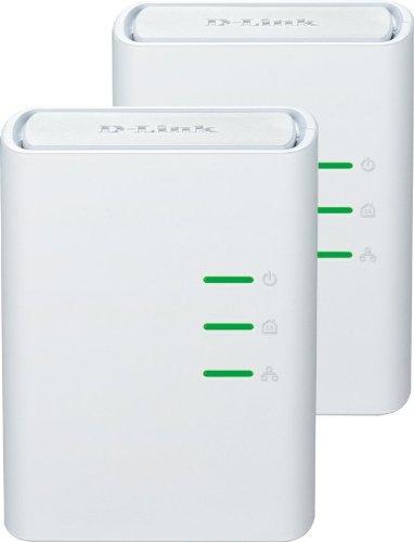 875 opinioni per D-Link DHP-309AV Kit 2 Mini Adattatori PowerLine, Plug&Play, Risparmio