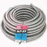 Southwire Fo3750050m Aluminum Flex Conduit, 3/8'' X 50'