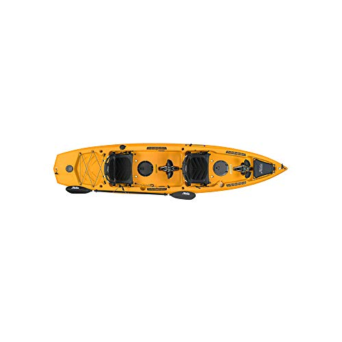 Hobie Mirage Compass Duo Tandem Kayak 2019 Papaya Orange
