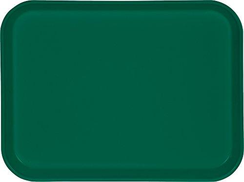Carlisle 1410FG006 Fiberglass Glasteel Solid Rectangular Tray, 13.75
