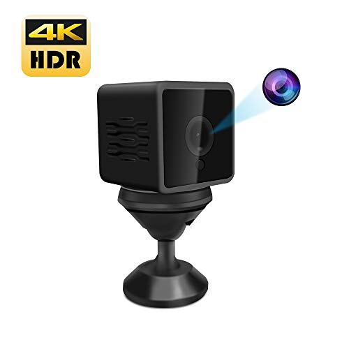 Beenwoon Wi-Fi Hidden Camera 4K Full HD App Live Video Remote View, Motion Detection Alerts – Spy Nanny Cam