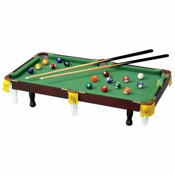 Tabletop Miniature Pool Table by WMU