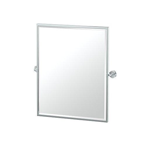 Gatco 4249FSM Latitude II Framed Small Rectangle Mirror Chrome, 25''H by Gatco