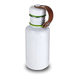 Black+Blum - Water Bottle - White / Lime